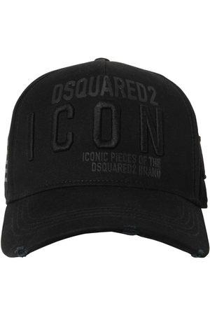 Dsquared2 Heren Petten - Icon Cotton Gabardine Baseball Hat