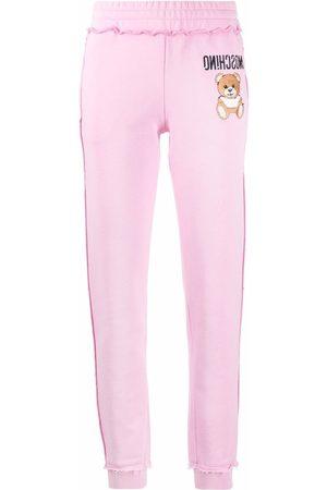 Moschino Dames Joggingbroeken - Teddy Bear motif track pants