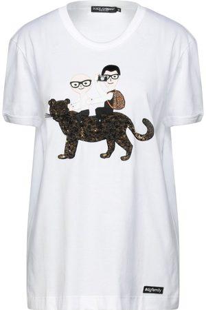 DOLCE & GABBANA Dames T-shirts - TOPWEAR - T-shirts