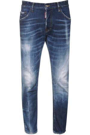 Dsquared2 Heren Jeans - 16cm Skater Cotton Denim Jeans