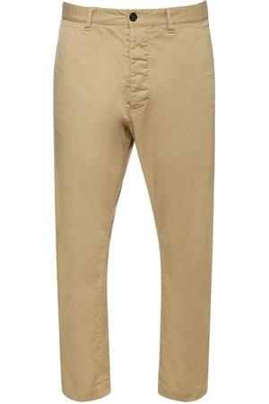 Dsquared2 Heren Broeken - Hockney Stretch Cotton Twill Pants
