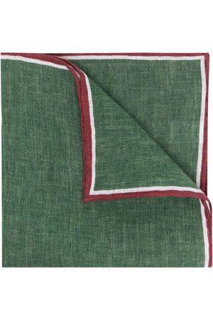 Lady Anne Fox two-tone linen scarf