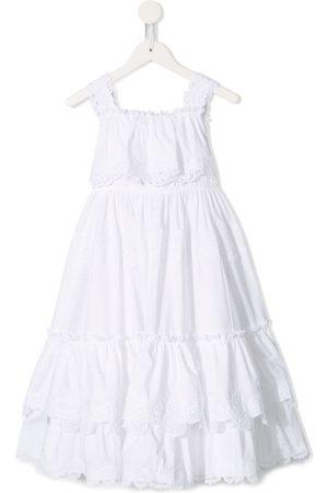 Dolce & Gabbana Meisjes Feestjurken - Sleeveless ruffled dress