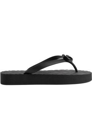 Gucci Dames Teenslippers - GG rubber flip flops