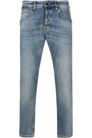 PRPS Heren Straight - Stonewashed straight-leg jeans