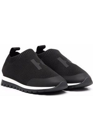 Kenzo Jongens Sokken - Monogram-print sock sneakers
