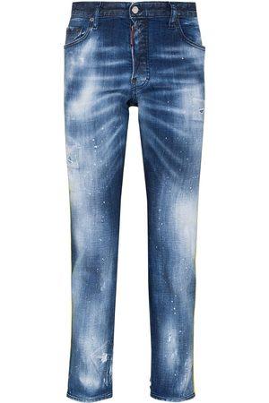 Dsquared2 Skater logo-tape slim jeans
