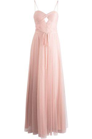 Marchesa Notte Dames Feestjurken - Sweetheart-neck floor-length gown