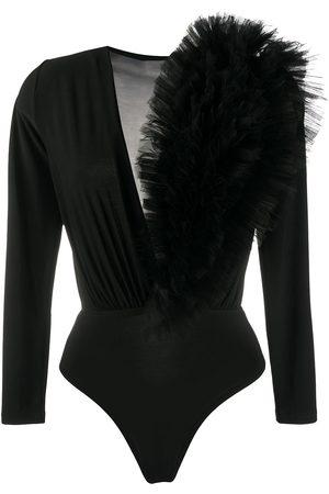 Alchemy Dames Bodysuits - Ruffled tulle bodysuit