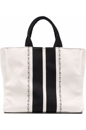 10 CORSO COMO Heren Shoppers - Logo-print tote bag