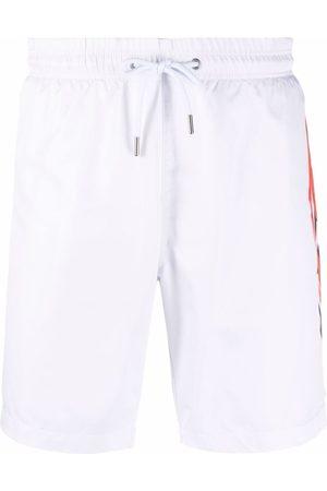Philipp Plein Heren Shorts - Logo-print swimming shorts