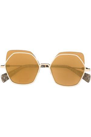 YOHJI YAMAMOTO Zonnebrillen - Oversized sunglasses