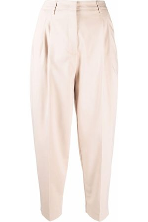 BLANCA High-waisted cropped trousers