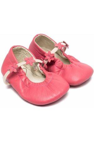 PèPè Elf leather ballerina shoes
