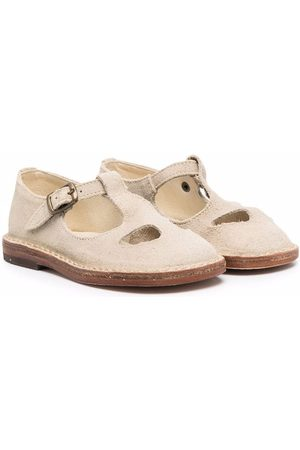 PèPè Woven-texture sandals