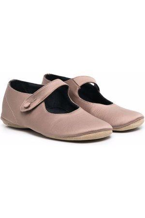 PèPè Side-button ballerina shoes