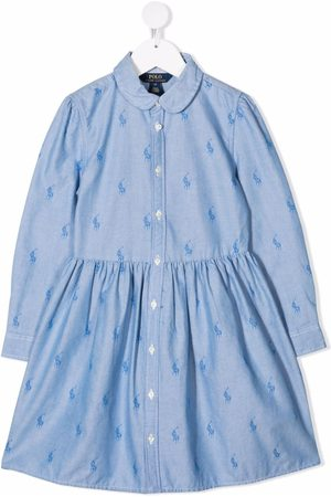 Ralph Lauren Polo Pony-print shirt dress