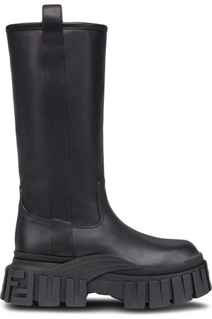 Fendi Heren Laarzen - Chunky mid-calf boots