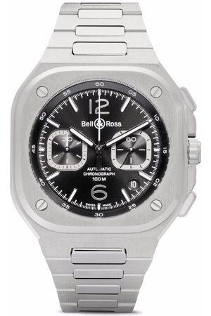 Bell & Ross Heren Horloges - BR 05 Chono Steel 42mm