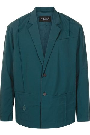 A-cold-wall* Rhombus single-breasted badge blazer