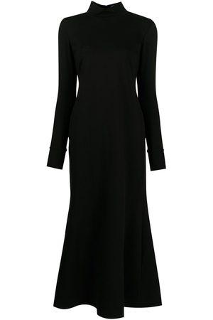 Macgraw Dames Midi jurken - High-neck flared midi dress