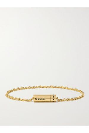 Le Gramme Heren Armbanden - 9g 18-Karat Chain Bracelet