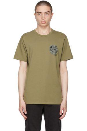 RAG&BONE Khaki Floral Camo T-Shirt
