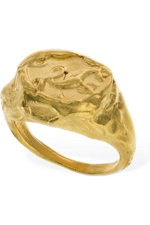 Alighieri Dames Ringen - Capricorn Signet Ring