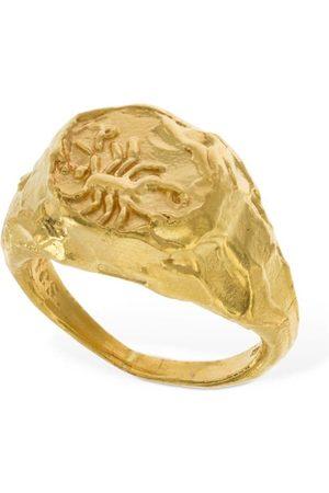 Alighieri Scorpio Signet Ring