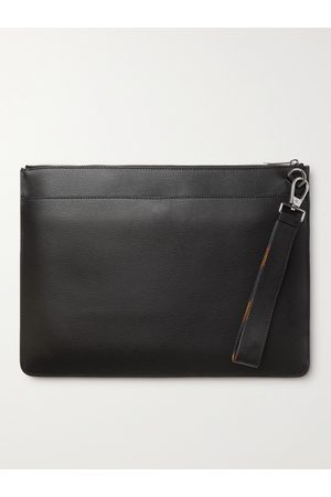 Paul Smith Heren Laptotassen - Textured-Leather Document Holder