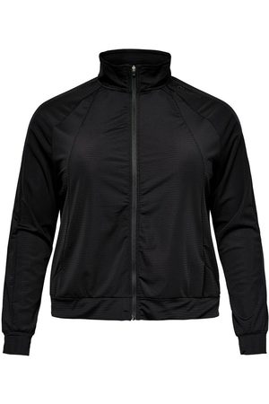 ONLY Curvy Zip Training Top Dames