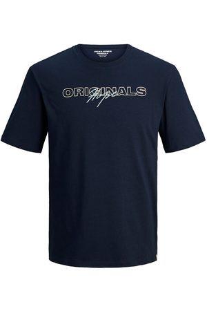 jack & jones Heren T-shirts - Jongens Crew-neck T-shirt Heren