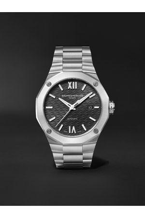 Baume & Mercier Heren Horloges - Riviera Automatic 42mm Stainless Steel Watch, Ref. No. M0A10621