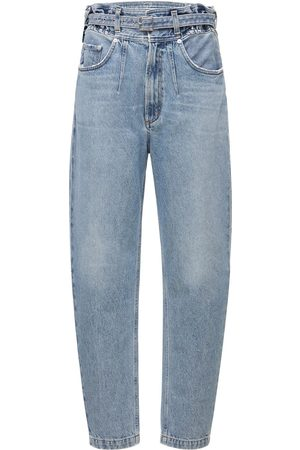 AGOLDE Rive Denim Jeans W/ Belt