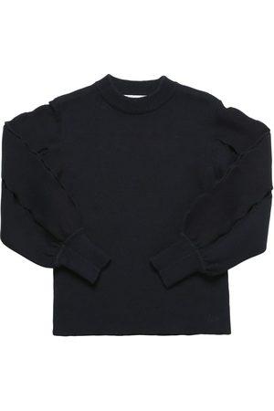 CHLOÉ Cotton Blend Knit Sweater