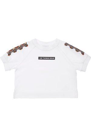 Burberry Bear Print Cotton Jersey T-shirt