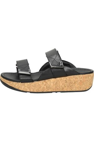 FitFlop Dames Slippers - Remi Adjustable Slides Leather