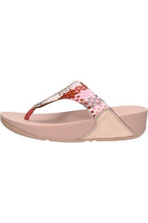 FitFlop Dames Sandalen - Lulu Silky Weave Toe-post Sandals