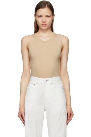 RAG&BONE Dames Bodysuits - Beige Rooney Bodysuit