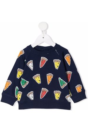 Stella McCartney Pizza-print sweatshirt