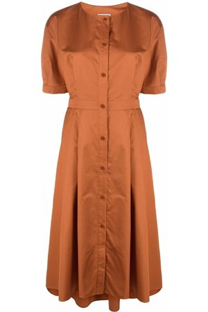 12 STOREEZ Dames Feestjurken - Button-down flared dress