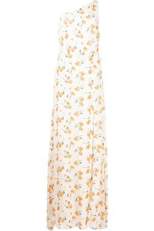 Reformation Evelyn floral-print long dress