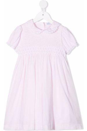 SIOLA Meisjes Casual jurken - Contrast-trim cotton-blend dress