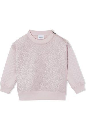 Burberry Quilted monogram sweatshirt