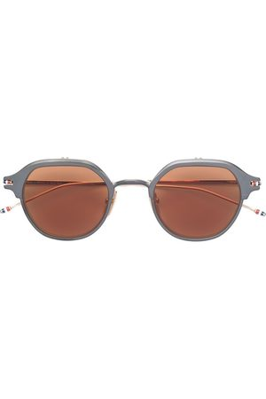 Thom Browne Iron & white gold sunglasses