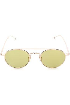Thom Browne Shiny 12k Gold & Yellow Sunglasses
