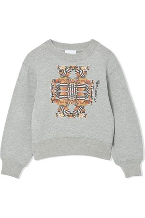 Burberry Bear-print long-sleeve sweatshirt