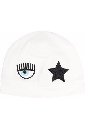 Chiara Ferragni Mutsen - Logo-patch star beanie