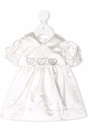 Chiara Ferragni Gem-logo puff-sleeve dress