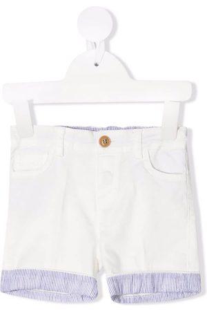 Zhoe & Tobiah Stripe-print shorts